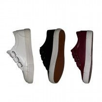 Leather Double Velcro Sneakers