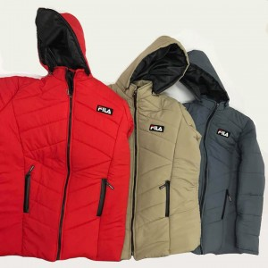 PUMP JACKET WITH HOODY